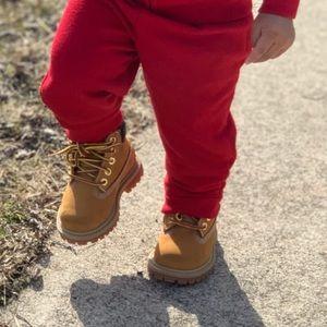 Wheat toddler timberlands